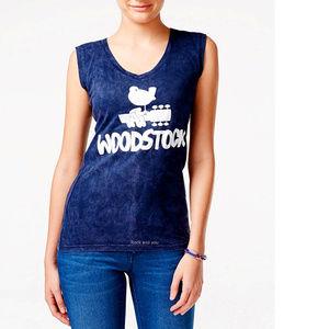 Woodstock music festival Girls Tank Top L NWT